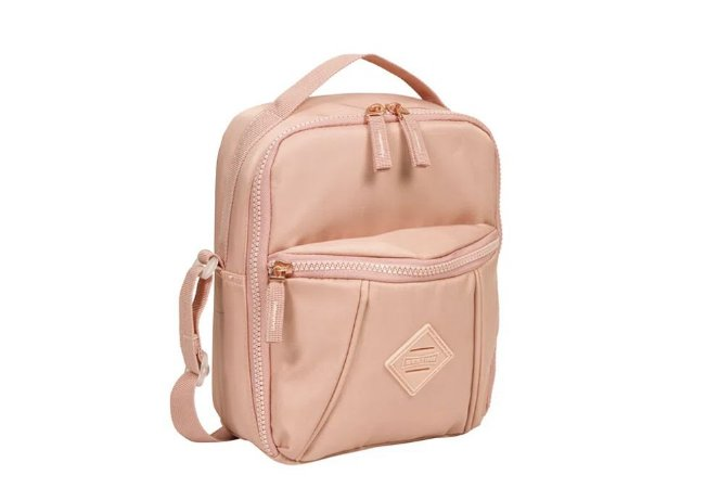 Lancheira Pocket Sestini Lunch Crinkle Nude