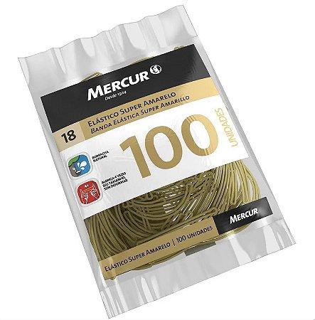 Elástico Super Amarelo - 100 unidades