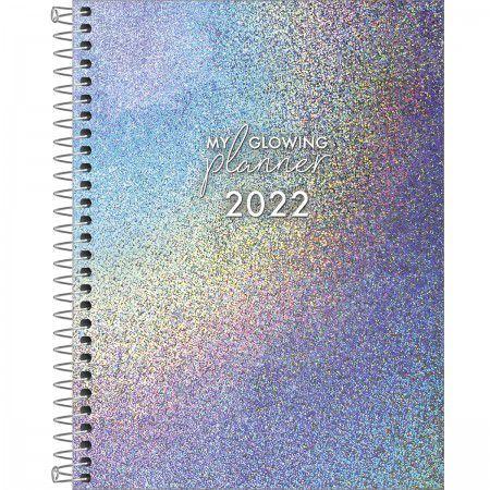 PLANNER ESPIRAL 17,7 X 24 CM GLOW 2022