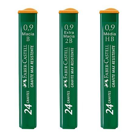 Grafite Técnico Faber-Castell Polymer 0.9mm - Unidade