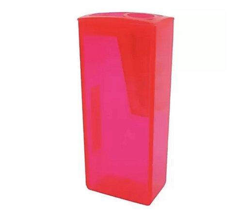 Apontador com Depósito Faber-Castell Rosa - Unidade