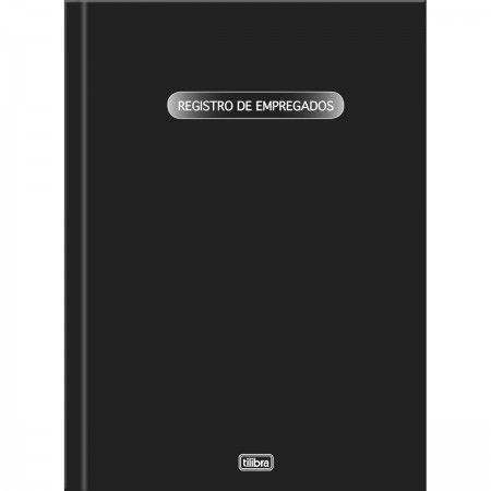 LIVRO REGISTRO DE EMPREGADOS CAPA DURA - 50 FOLHAS
