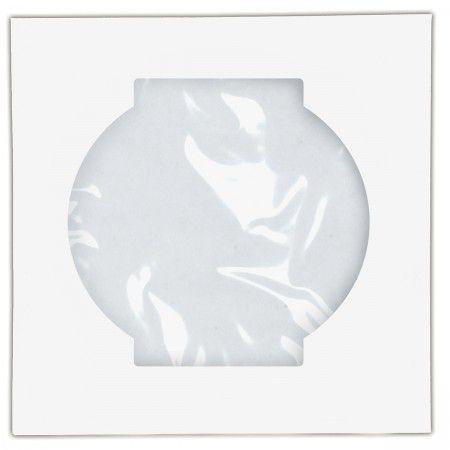 ENVELOPE PARA CD/DVD BRANCO 126X126MM - UNIDADE