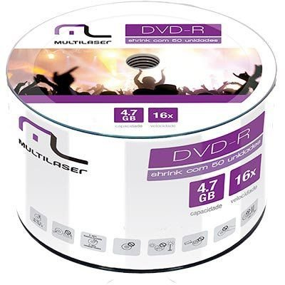 DVD-R 16X MULTILASER