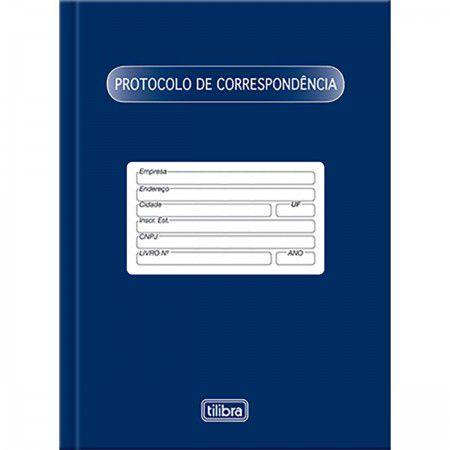 LIVRO PROTOCOLO DE CORRESPONDÊNCIA CAPA DURA 104FLS
