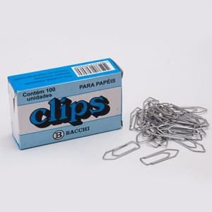 Clips Aço Galvanizado n° 1/0 (0) - c/ 100 unidades