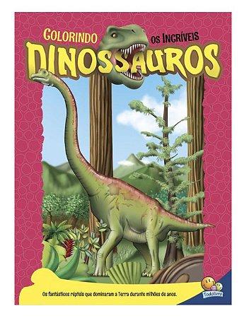 Colorindo os Incríveis Dinossauros