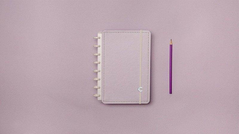 Caderno Inteligente Lilás Pastel