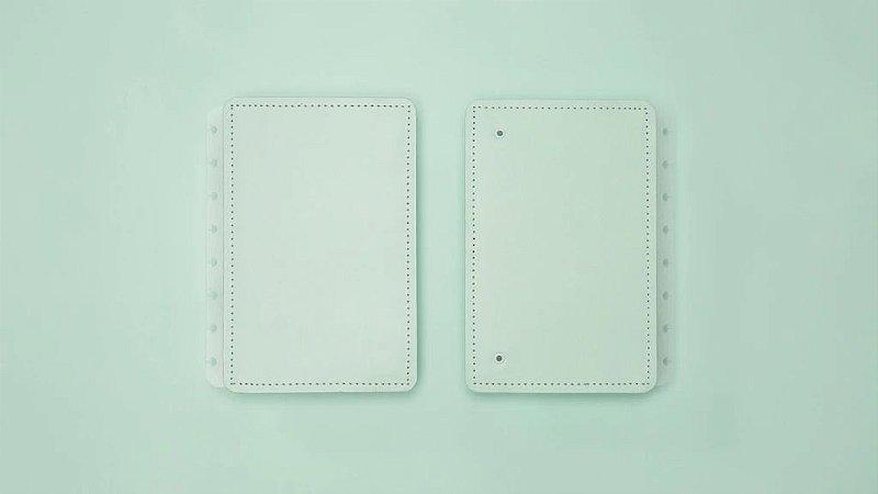 Capa Caderno Inteligente Verde Pastel