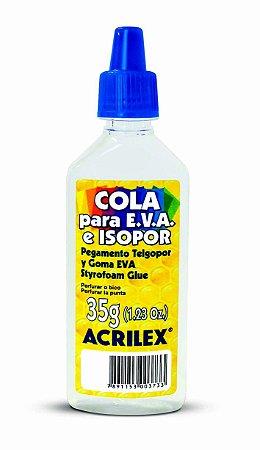 Cola para EVA e Isopor 35g Acrilex