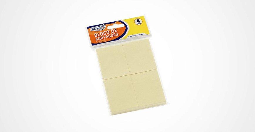 Bloco de Recado 38x51 Amarelo c/04