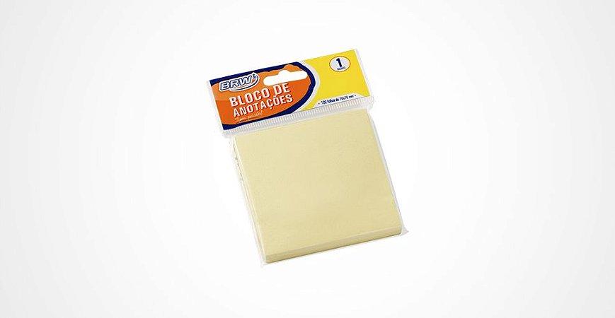 Bloco de Recado 76x76 Amarelo