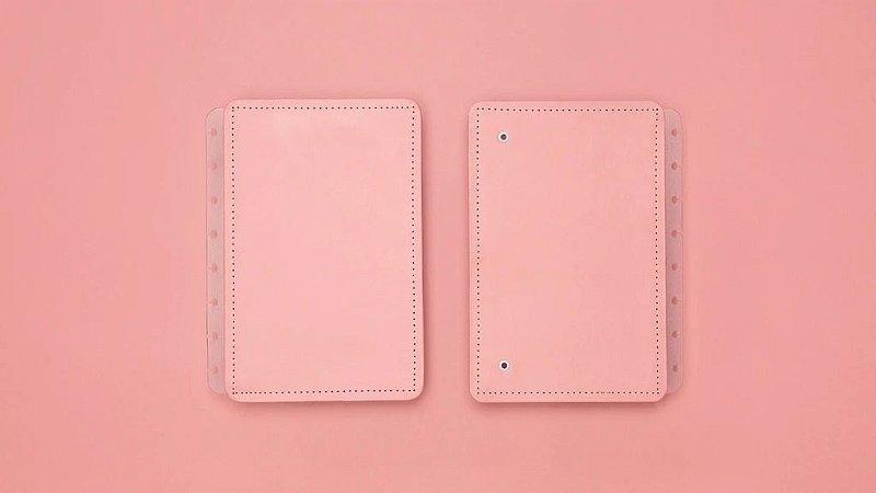 Capa Caderno Inteligente Rosé Pastel