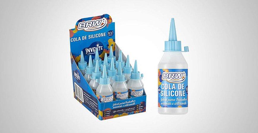 Cola de Silicone 100g BRW - Unidade
