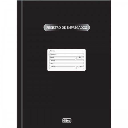 LIVRO REGISTRO DE EMPREGADOS CAPA DURA - 100 FOLHAS CÓD: 121274