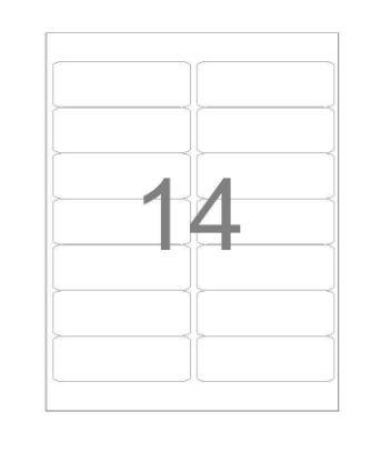 Etiqueta Maxprint Carta 6282 com 25 Folhas