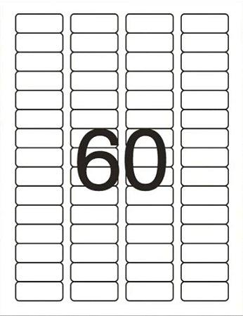 Etiqueta Maxprint Carta 6089 com 10 Folhas