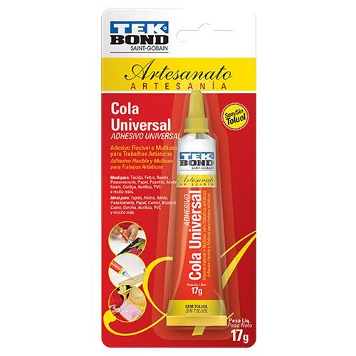 Cola Universal Artesanato 17g Tek Bond