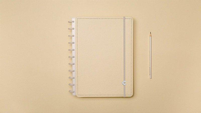 Caderno Inteligente Amarelo Pastel