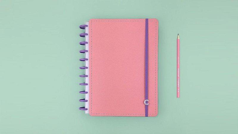 Caderno Inteligente Rose Rosé