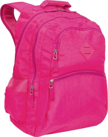 Mochila 2 Compartimentos Sestini College Crinkle Pink