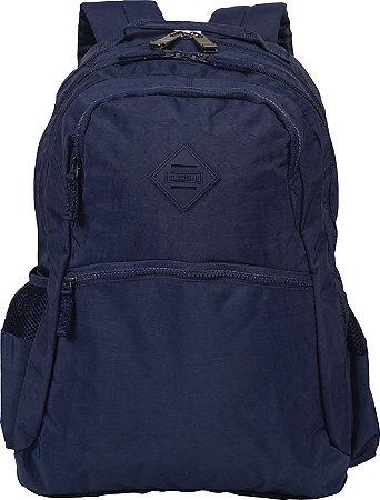 Mochila 2 Compartimentos Sestini College Crinkle Azul