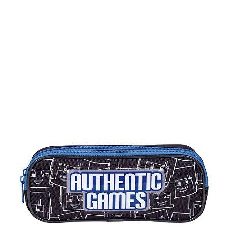 Estojo 2 Compartimentos Authentic Games 21M Plus