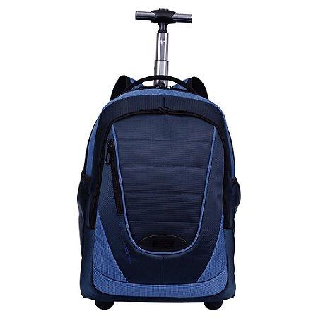 Mochila Carrinho 2 Compartimentos Sestini Evolution Azul