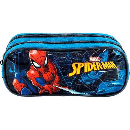 Estojo Duplo Spider Man Haste