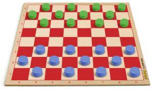 Jogo de Damas (24 pedras)