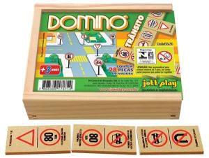 Domino Trânsito (28 pecas) - Jott Play