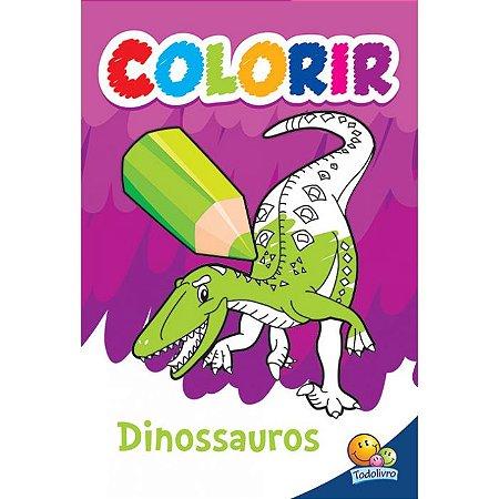 Colorir: Dinossauros