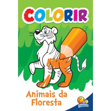 Colorir: Animais da Floresta
