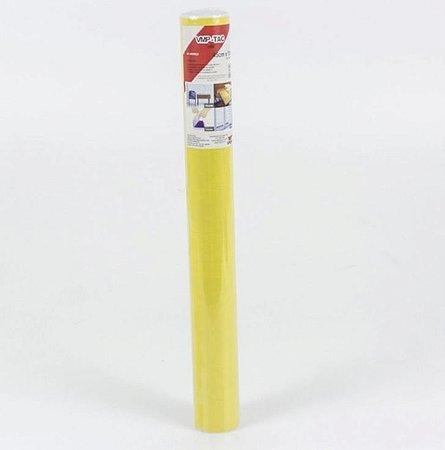 Plástico Adesivo Liso Amarelo 10m Vmp