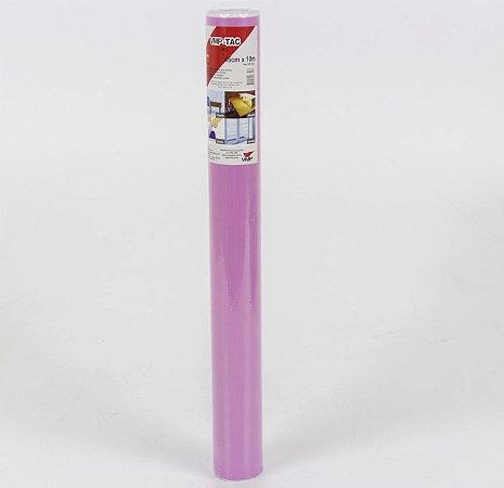 Plástico Adesivo Liso Pink 10m Vmp