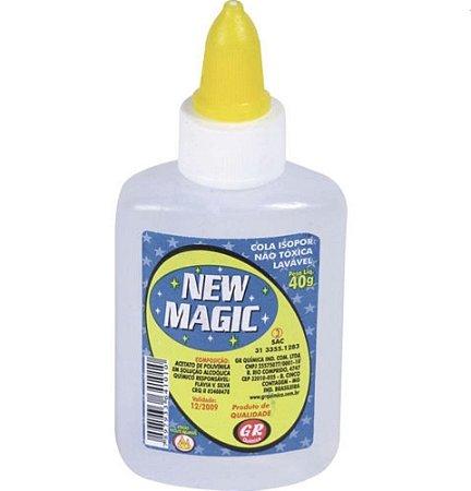 Cola para Isopor 40g New Magic