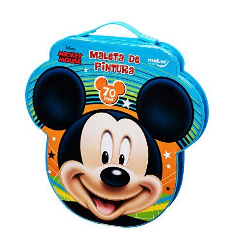 MALETA DE PINTURA FACE (70 itens) Mickey Mouse