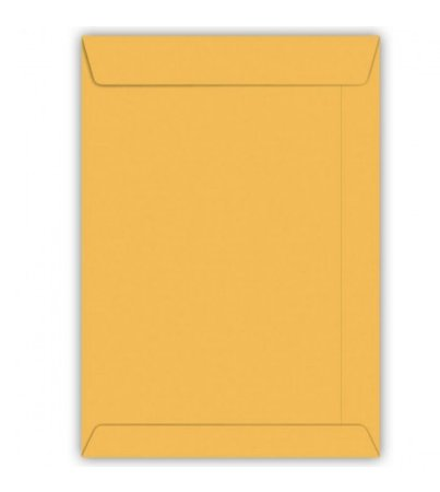 Envelope Saco Kraft Ouro 80g 310x410mm