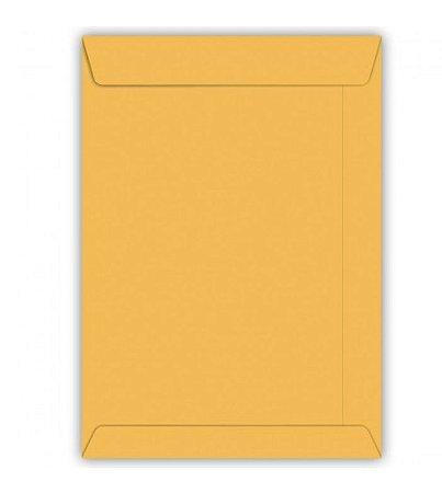 Envelope Saco Kraft Ouro 80g 110x117mm