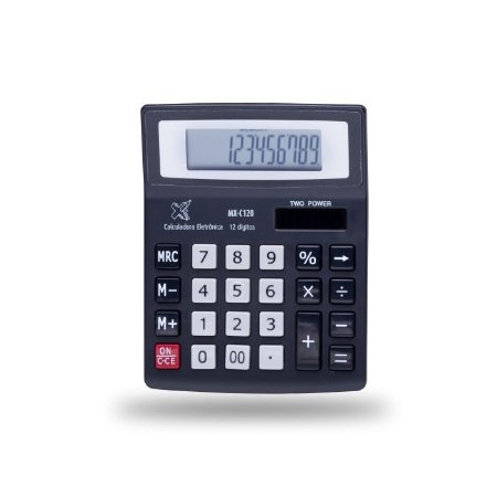 Calculadora De Mesa Maxprint MXC120 12 Dígitos