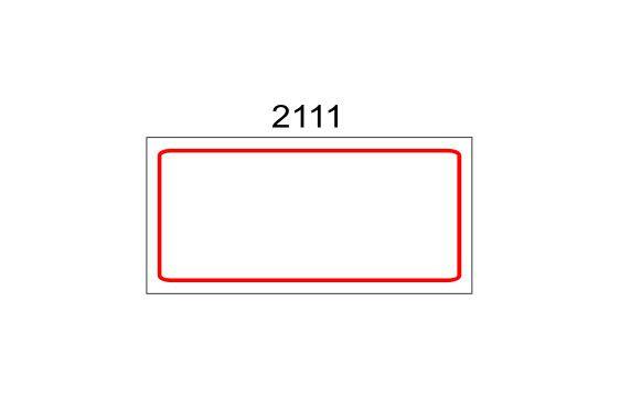 Etiqueta Auto-adesiva 12X25mm Rolo com 20 Metros Ref. 2111G