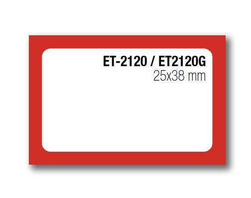 Etiqueta Auto-adesiva 25X38mm Rolo com 5 Metros Ref. 2120