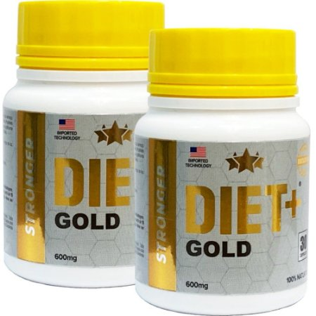 Diet + Gold 30 Cáps - Kit 2 unidades