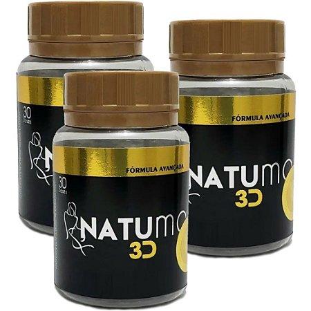 Natumax 3D - kit 3 unidades