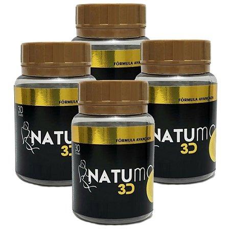 Natumax 3D - kit 4 unidades