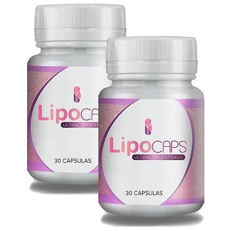 LipoCaps 30 Cáps - Kit 2 unidades LipoCaps