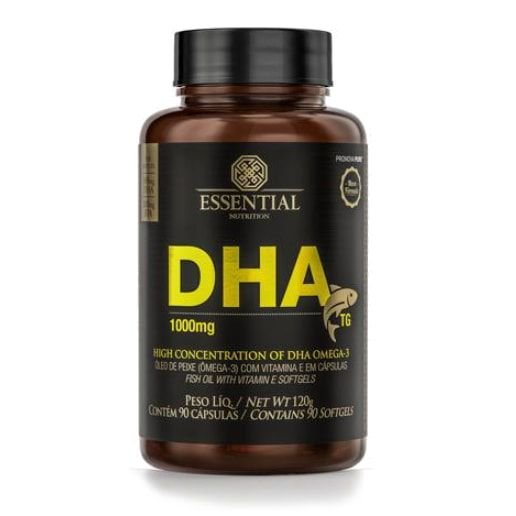 DHA TG 90 cápsulas (1000mg) - Essential Nutrition