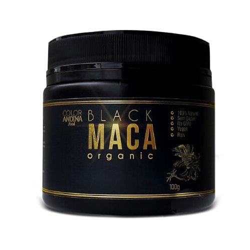 Black Maca Organic 100g - Color Andina