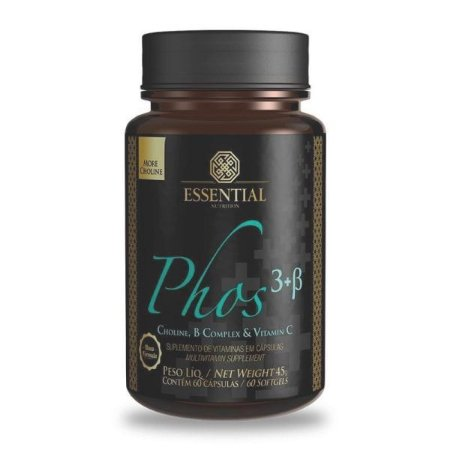 Phos 3+B 500mg 60 cáps - Essential Nutrition