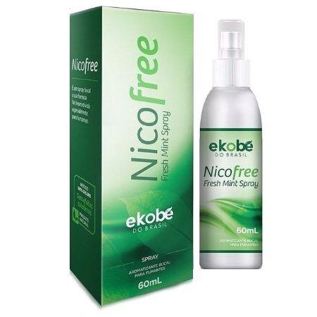 NicoFree Spray 60ml - Anti-Tabagismo - Parar de Fumar